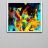 Abstract Art 18v1W Linear