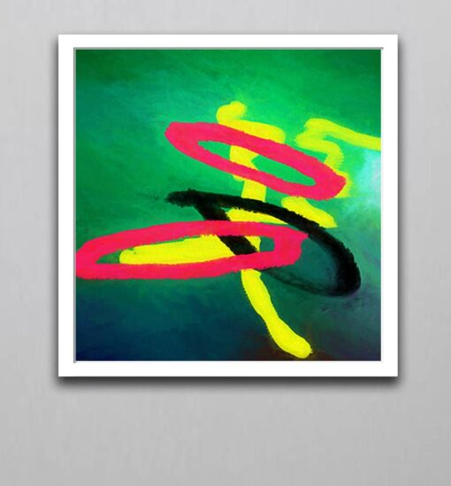 Abstract Art 5W Curvilinear