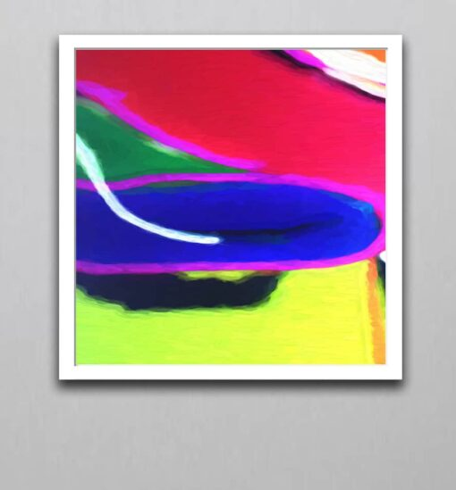 Abstract Art 8v1W block color