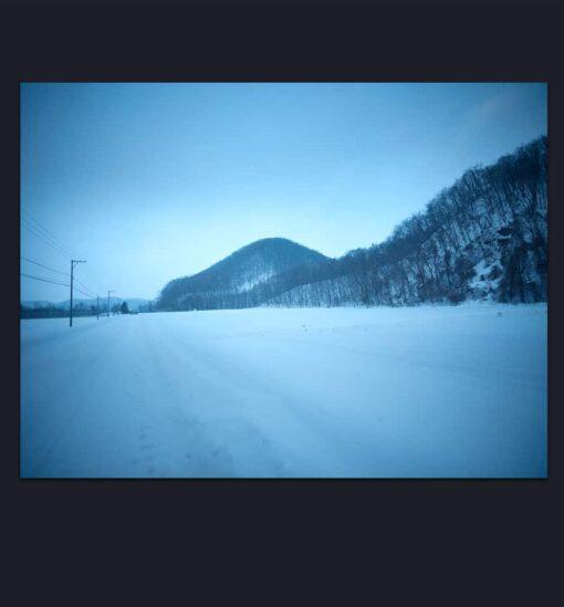 Photorealism Landscapes Photographs for sale Blue Winter
