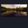 Photorealism Landscapes Photographs for sale sunset at wedge pond