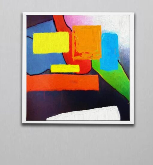 abstract art 4W Block color v1