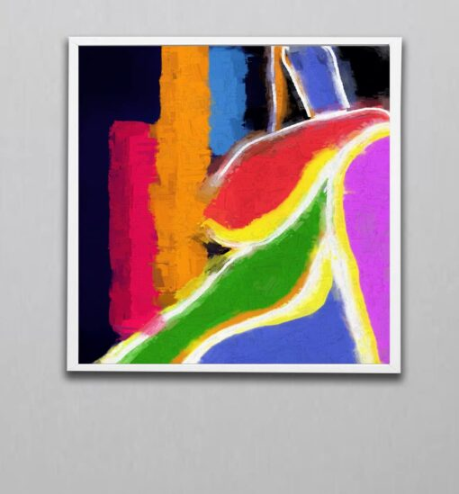 abstract art 5 V1W block color