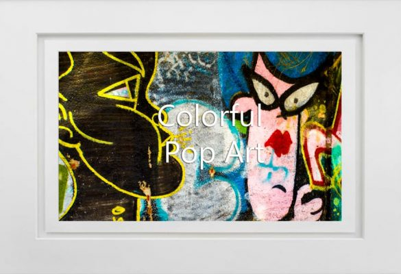 Colorful Pop Art and Photographs for sale
