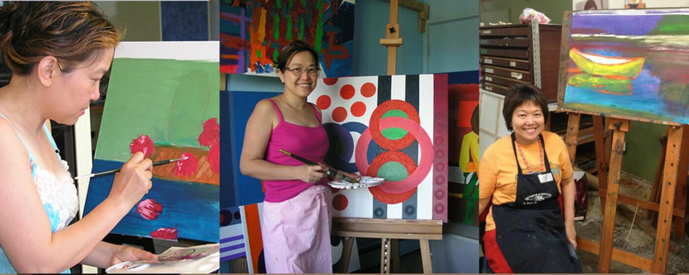 Dr Zenaidy Castro, abstract artist