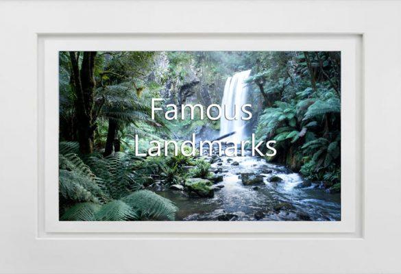 Famous Landmarks Photographs for sale
