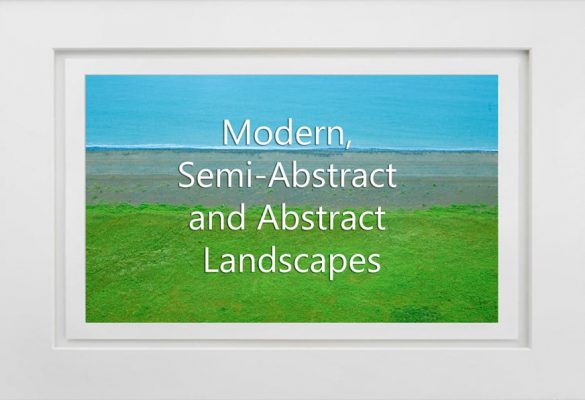 Modern Semi Abstract and Abstracted Landscapes Photographs for sale
