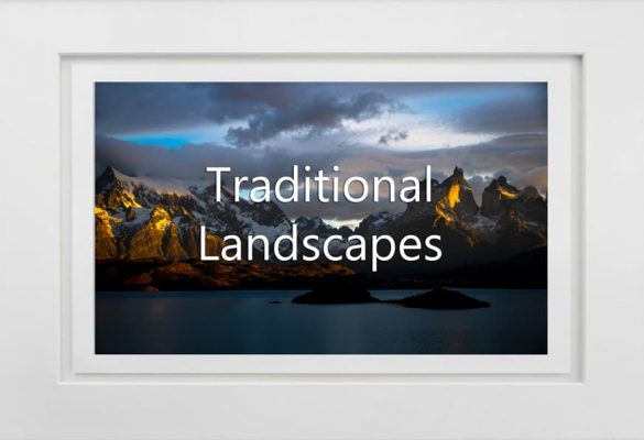 Traditional Lansdscapes Photographs for sale