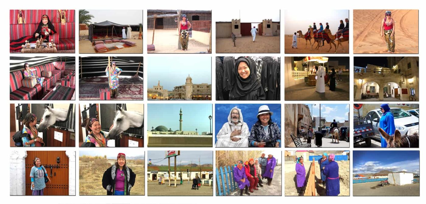 Dubai,-Doha,-Mongolia TRAVEL POSTCARD- Dr Zenaidy Castro