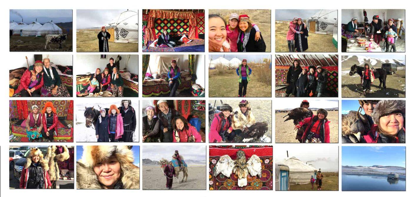 Mongolia TRAVEL POSTCARD- Dr Zenaidy Castro