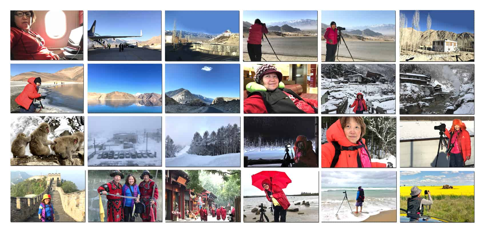 Ladakh,-Japan,-China TRAVEL POSTCARD- Dr Zenaidy Castro