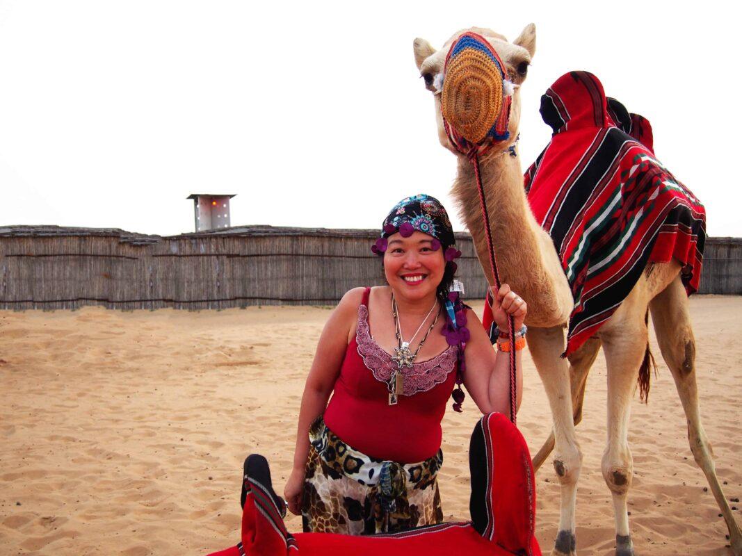 DR ZENAIDY CASTRO Arabian Adventures with Desert Safari in Dubai 1