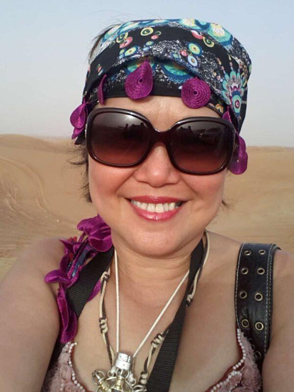 DR ZENAIDY CASTRO Arabian Adventures with Desert Safari in Dubai 2
