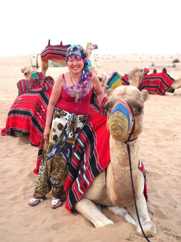 DR ZENAIDY CASTRO Arabian Adventures with Desert Safari in Dubai 3