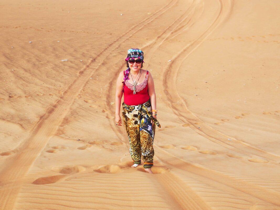 DR ZENAIDY CASTRO Arabian Adventures with Desert Safari in Dubai 4
