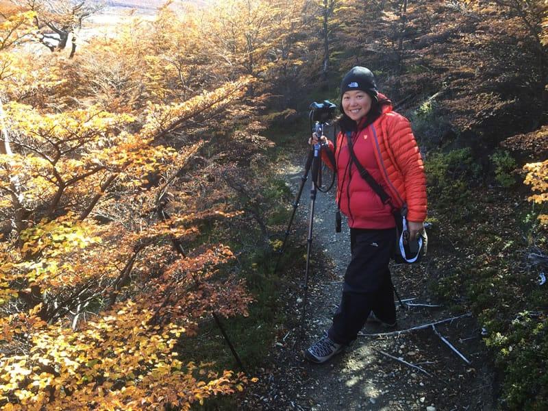 DR ZENAIDY CASTRO Trekking Patagonia walking beyond comfort zone 2