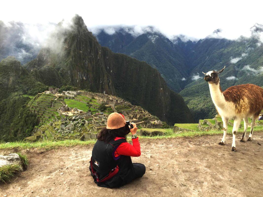 DR ZENAIDY CASTRO and The Llamas of Machu Picchu 20