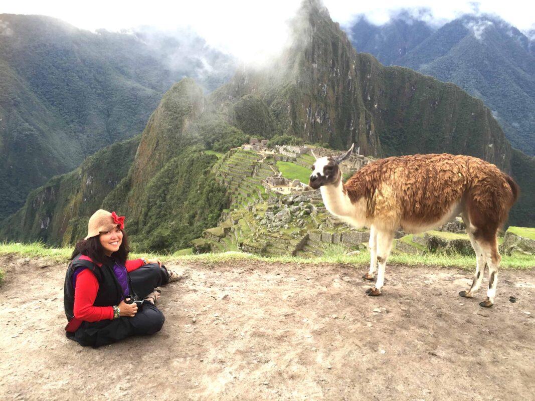 DR ZENAIDY CASTRO and The Llamas of Machu Picchu 21