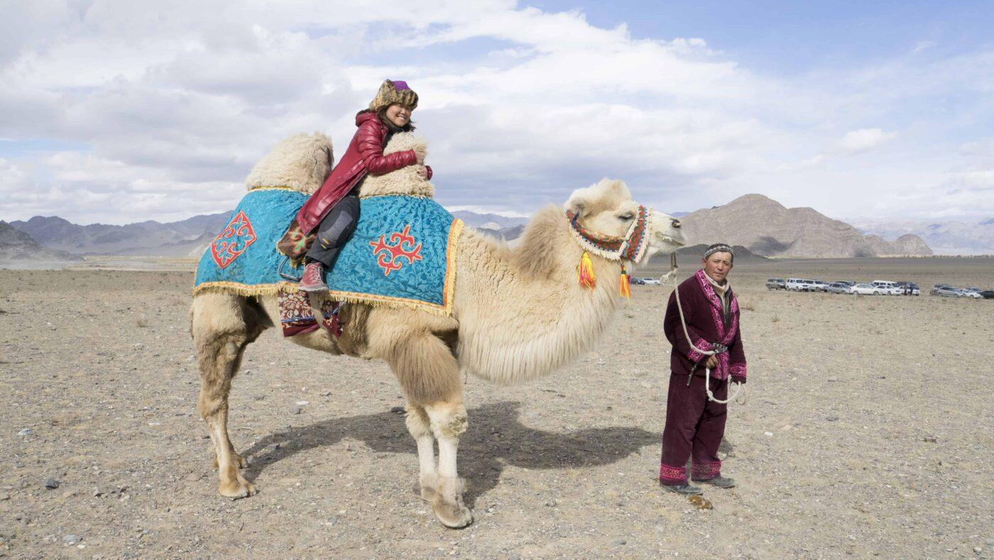 Dr Zenaidy Castri in CAMEL RIDE Mongolia 6