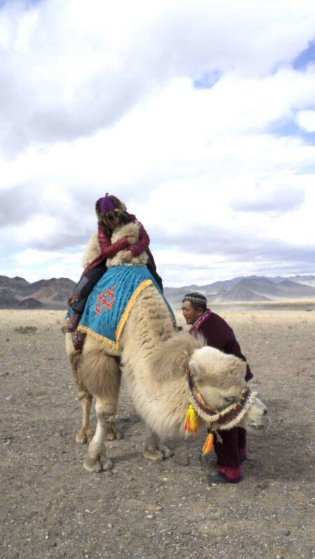Dr Zenaidy Castri in CAMEL RIDE Mongolia 7