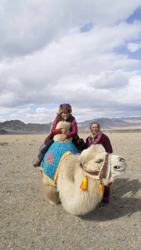 Dr Zenaidy Castri in CAMEL RIDE Mongolia 8