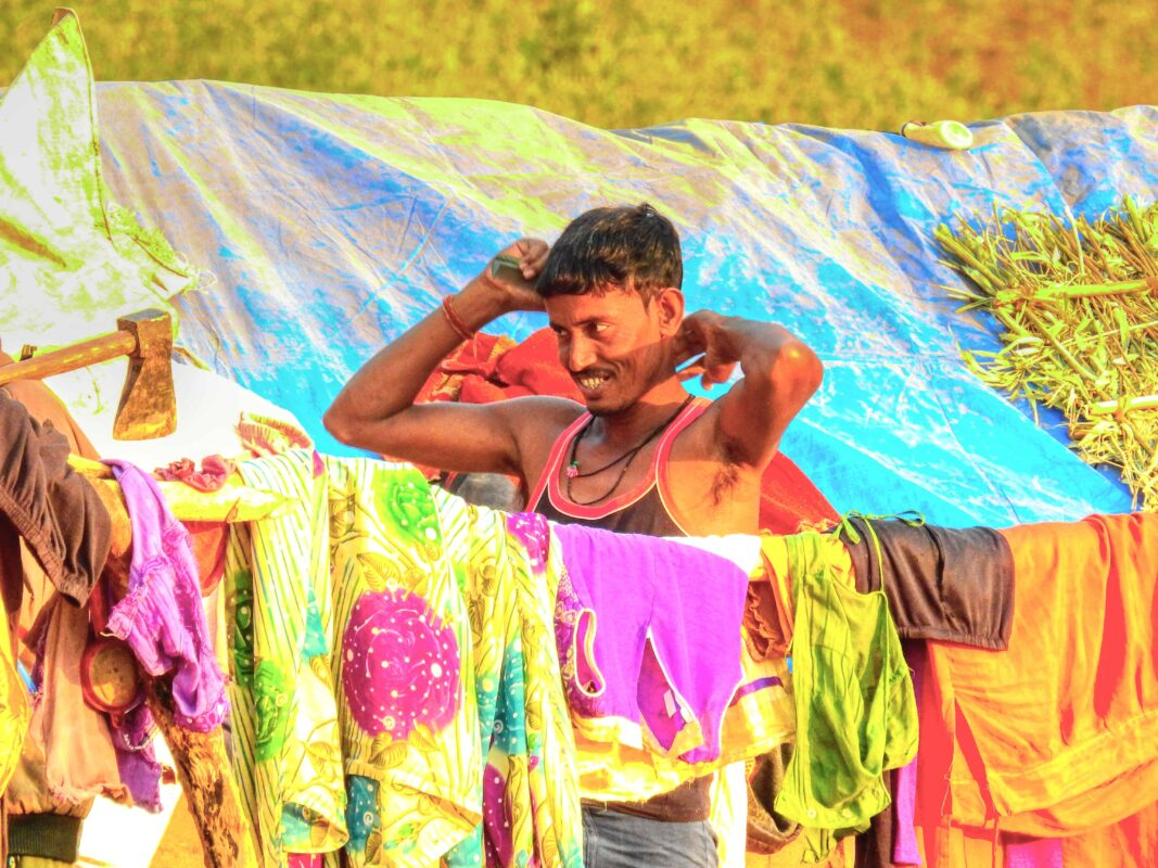 Gond Tribe of Central India famous street photographer Dr Zenaidy Castro 12