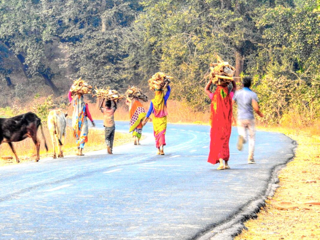 Gond Tribe of Central India famous street photographer Dr Zenaidy Castro 25