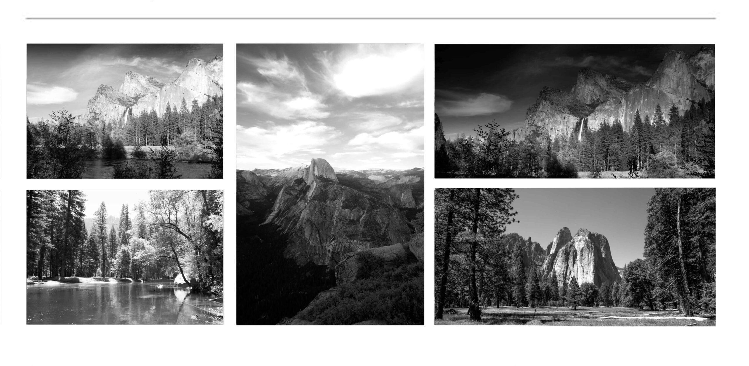 LANDSCAPE Yosemite BLACK AND WHITE FINE ART PHOTOGRAPHY FOR SALE