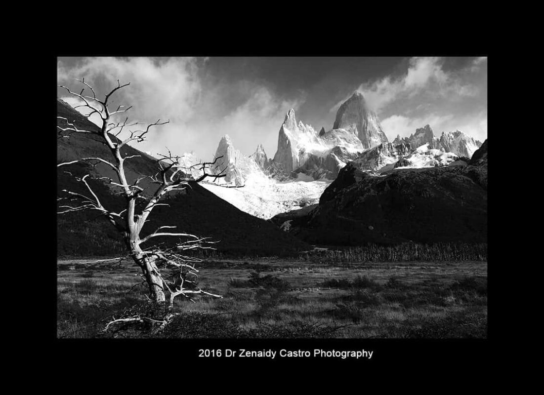 Mountains in Black White Mountain Photography by Dr Zenaidy Castro 2