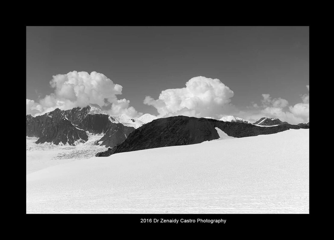 Mountains in Black White Mountain Photography by Dr Zenaidy Castro 5