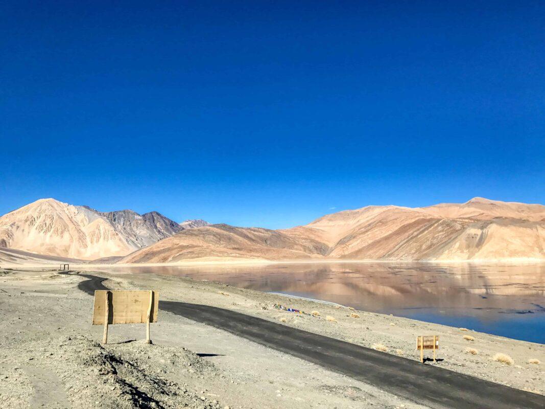 Road Trip from Leh to Pangong Lake Ladakh India travel 34