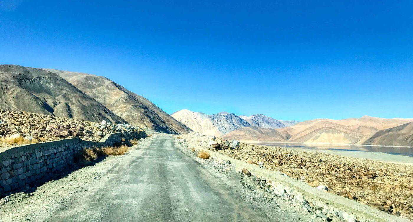 Road Trip from Leh to Pangong Lake Ladakh India travel 35