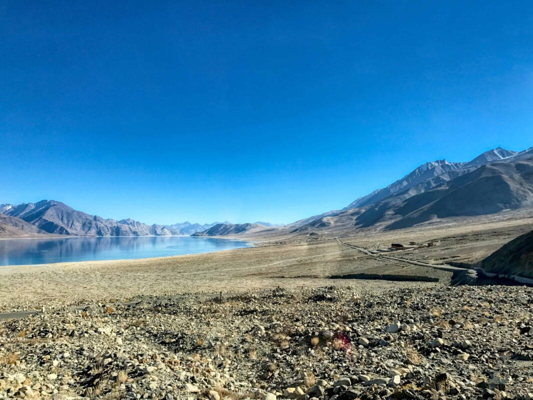 Road Trip from Leh to Pangong Lake Ladakh India travel 37