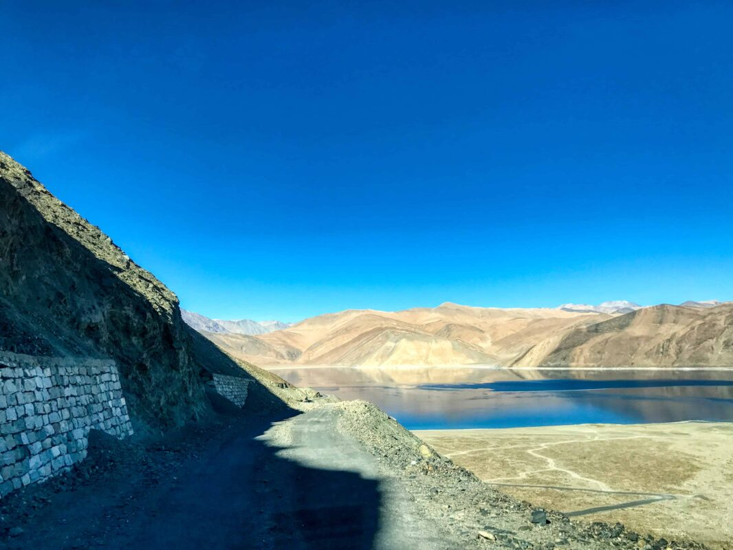 Road Trip from Leh to Pangong Lake Ladakh India travel 38
