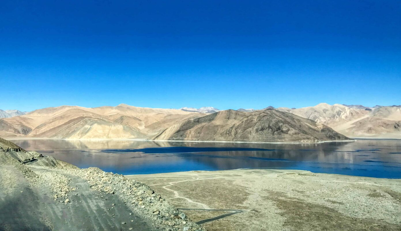 Road Trip from Leh to Pangong Lake Ladakh India travel 39