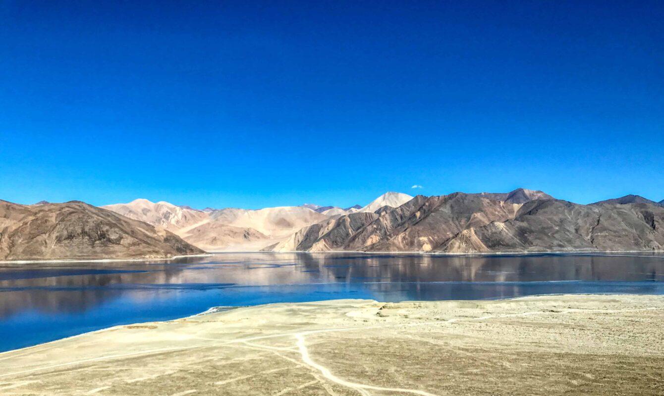 Road Trip from Leh to Pangong Lake Ladakh India travel 40