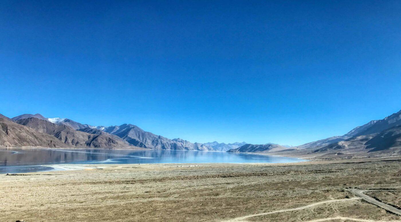 Road Trip from Leh to Pangong Lake Ladakh India travel 41