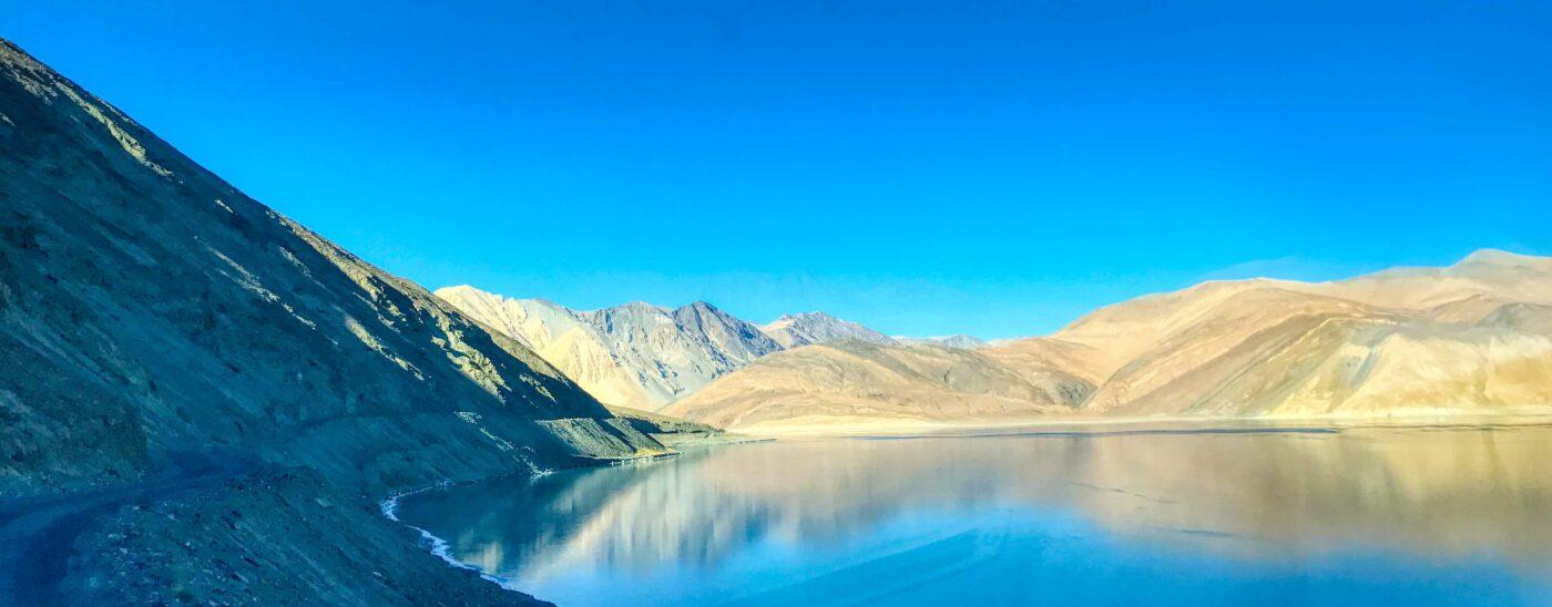 Road Trip from Leh to Pangong Lake Ladakh India travel 45