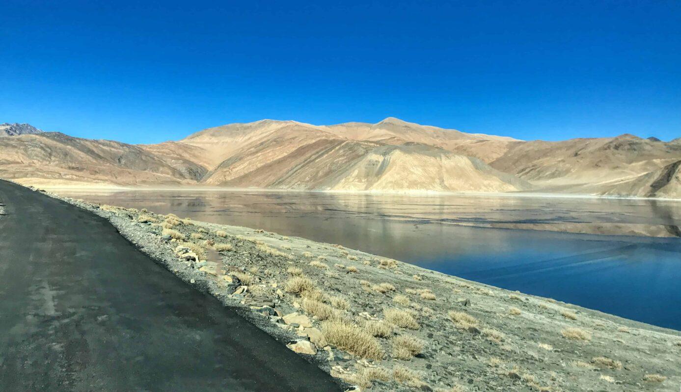 Road Trip from Leh to Pangong Lake Ladakh India travel 46