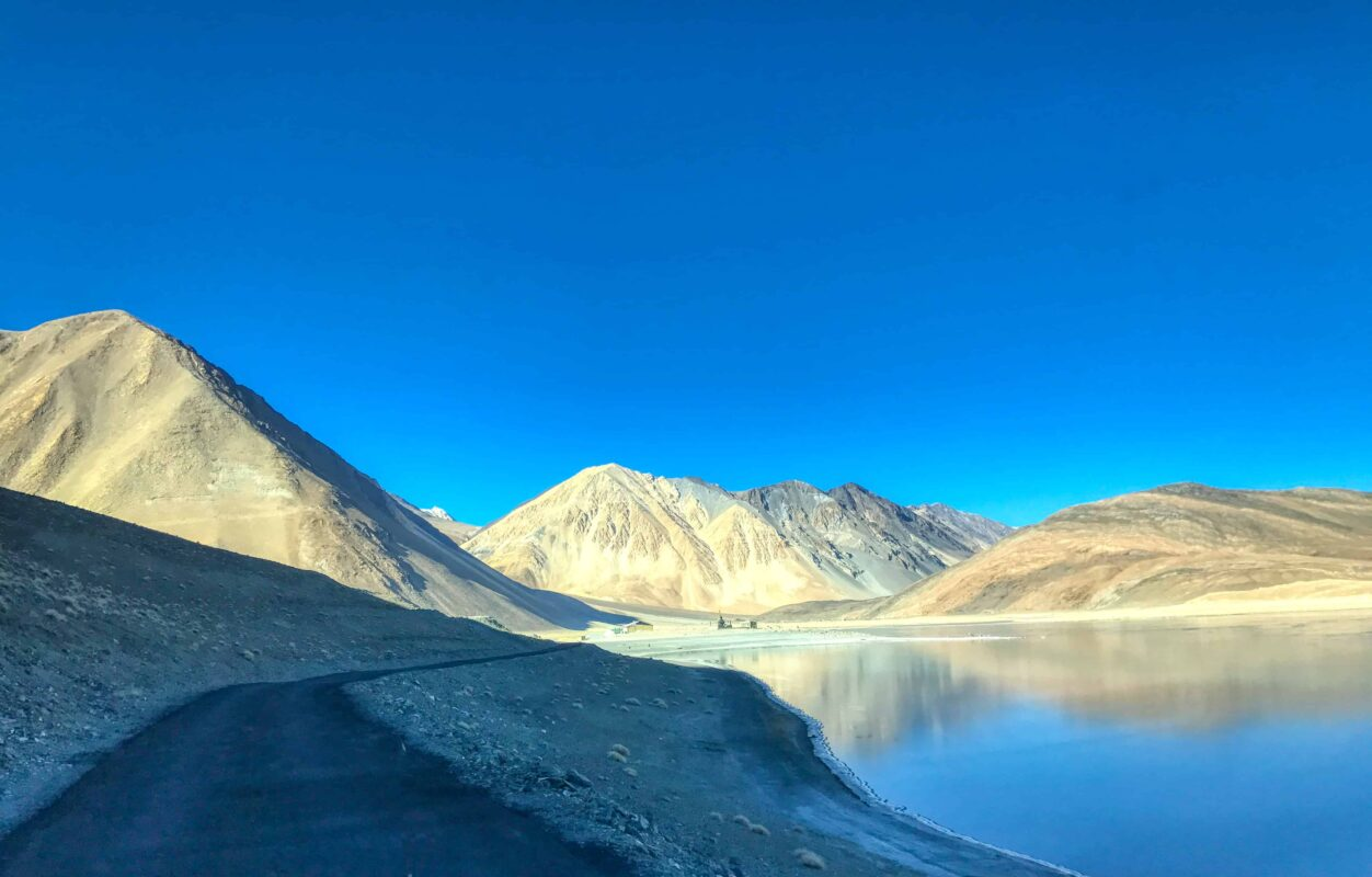 Road Trip from Leh to Pangong Lake Ladakh India travel 47