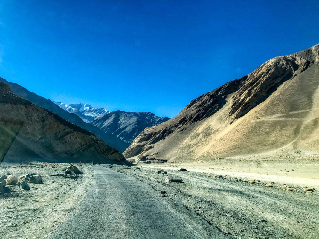 Road Trip from Leh to Pangong Lake Ladakh India travel 48