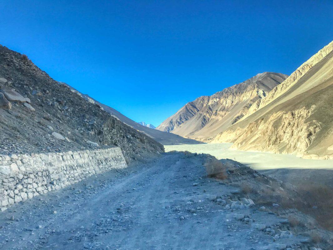 Road Trip from Leh to Pangong Lake Ladakh India travel 50