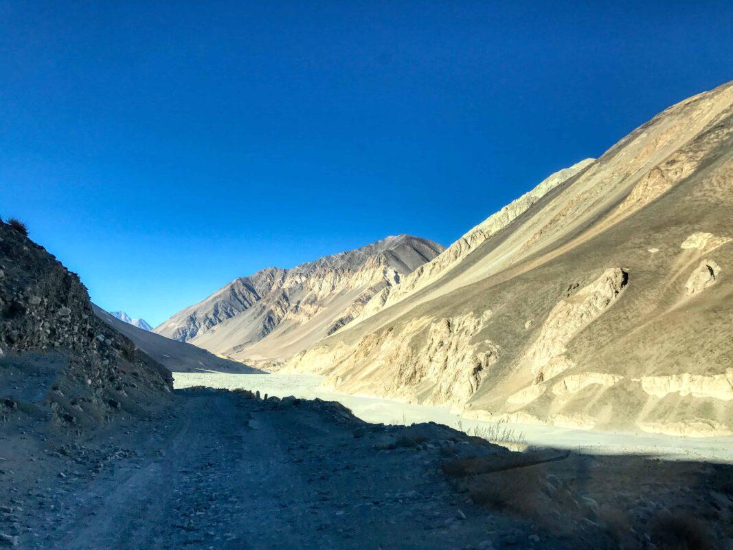 Road Trip from Leh to Pangong Lake Ladakh India travel 51