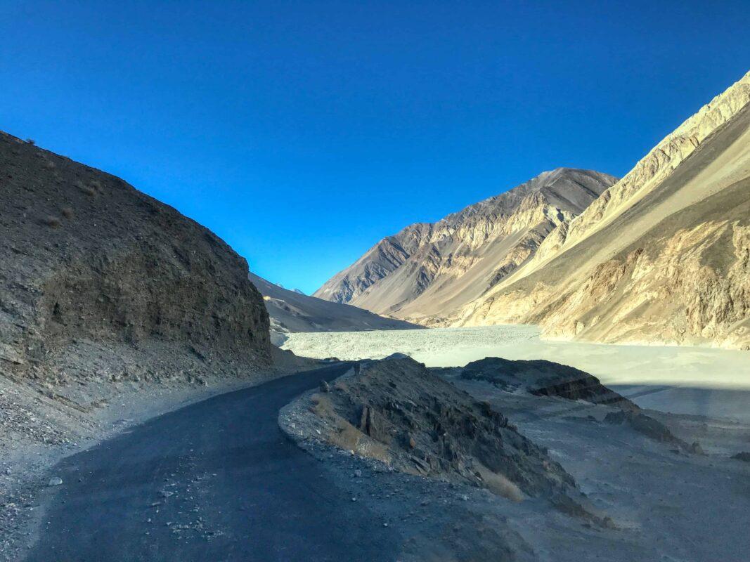 Road Trip from Leh to Pangong Lake Ladakh India travel 52