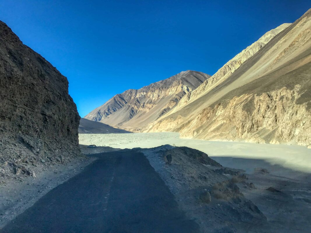 Road Trip from Leh to Pangong Lake Ladakh India travel 53