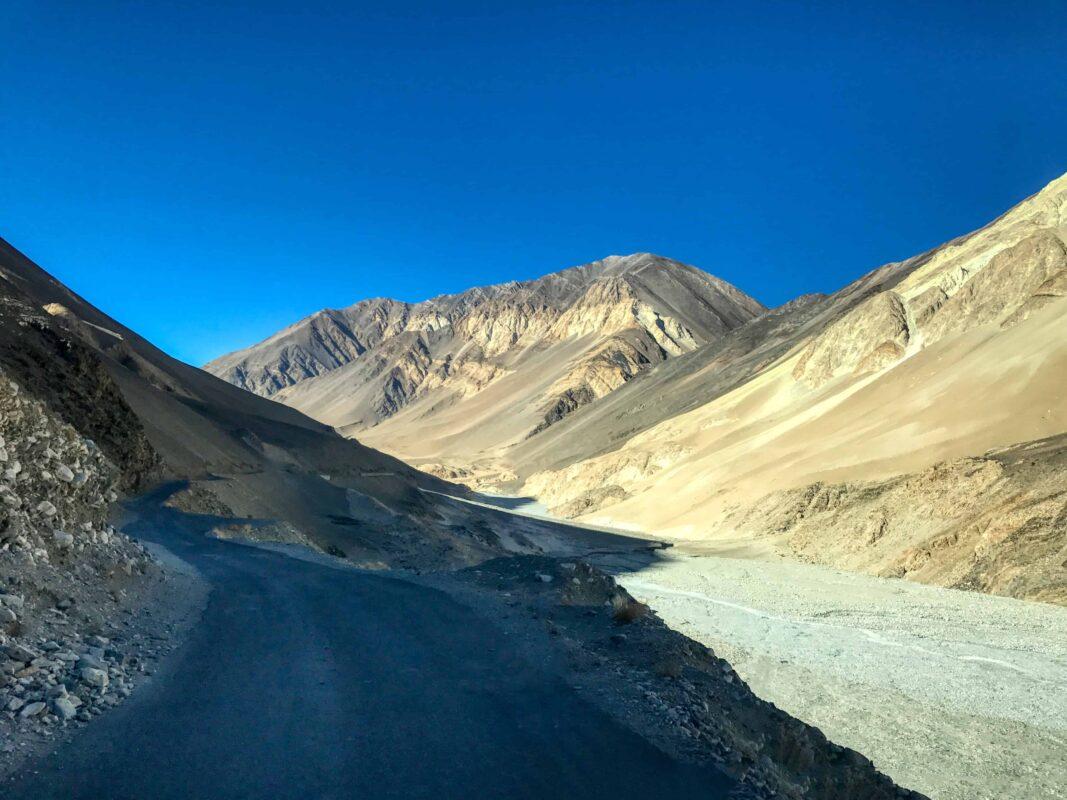 Road Trip from Leh to Pangong Lake Ladakh India travel 55