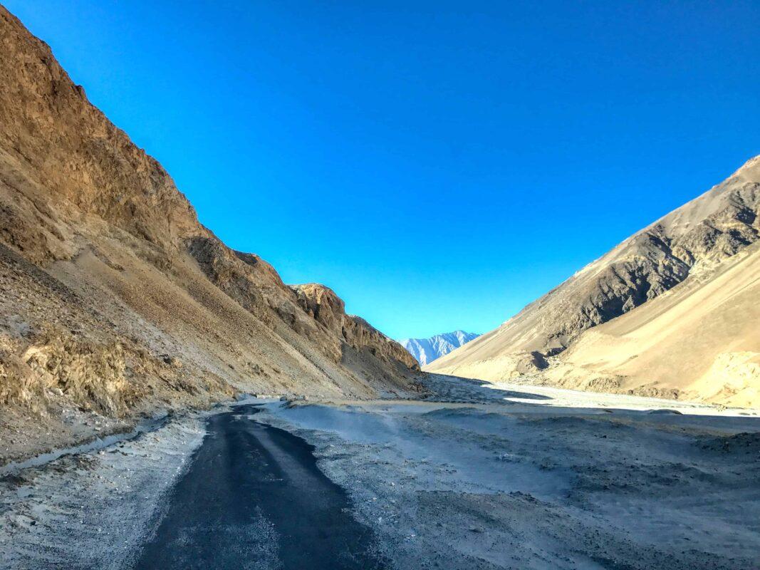 Road Trip from Leh to Pangong Lake Ladakh India travel 56