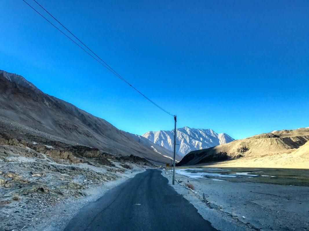 Road Trip from Leh to Pangong Lake Ladakh India travel 57