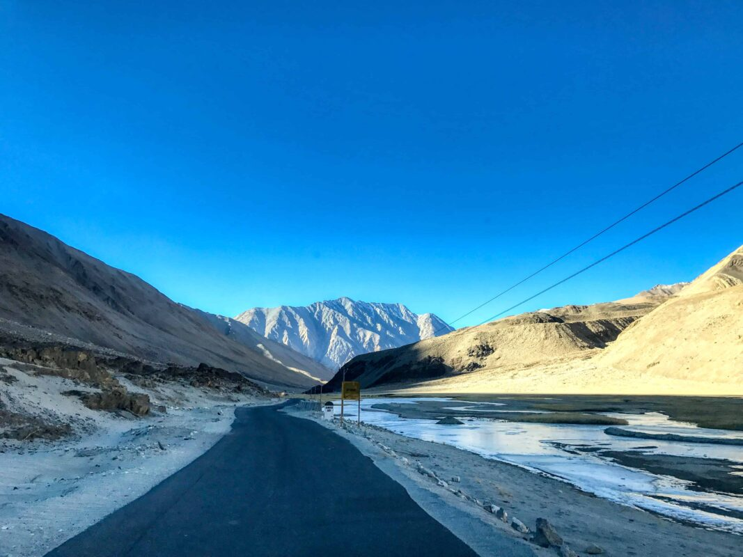 Road Trip from Leh to Pangong Lake Ladakh India travel 58