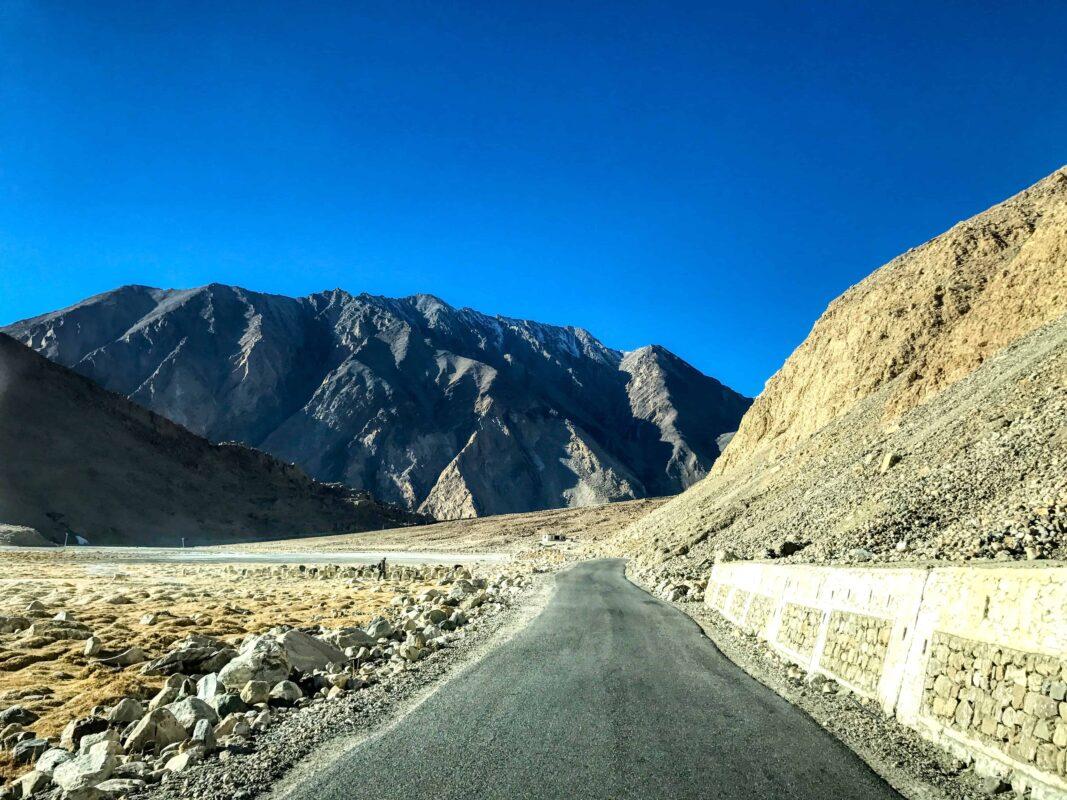 Road Trip from Leh to Pangong Lake Ladakh India travel 59